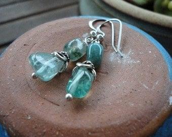 Apatite & Fancy Jasper Earrings