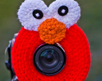 Elmo Lens Buddy, Lens Accesory, Shutter Helper, Smile Generator for Photo Props.
