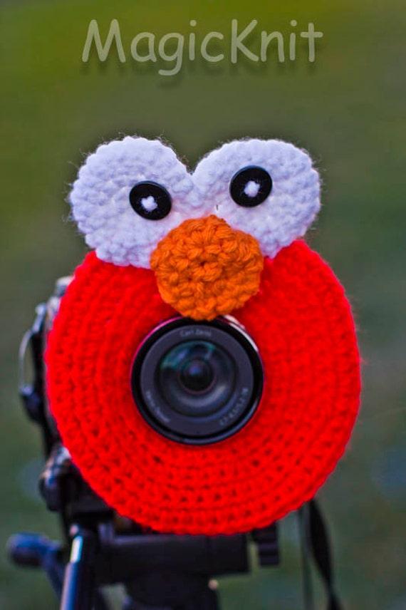 Elmo Lens Buddy, Lens Accesory, Shutter Helper, Smile Generator for Photo Props.