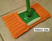 PATTERN Crochet Super Eco Mop Duster Cover (Swiffer type) Easy-Moderate
