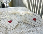 Bride and Groom's Initials, Custom Wedding Tags, Anniversary, Special Event Decor