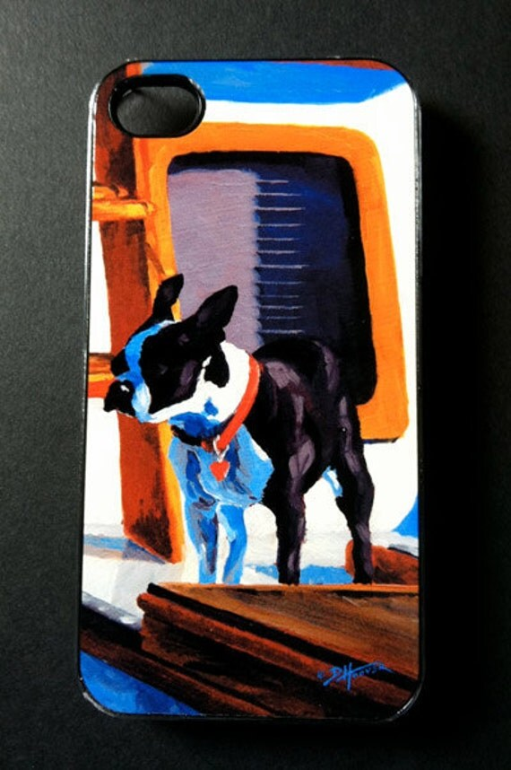 Sea Dog - Boston Terrier iPhone Case for iPhone 4 - 4s SALE