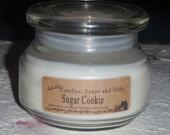 10 oz  sugar cookie  Veg soy Candle