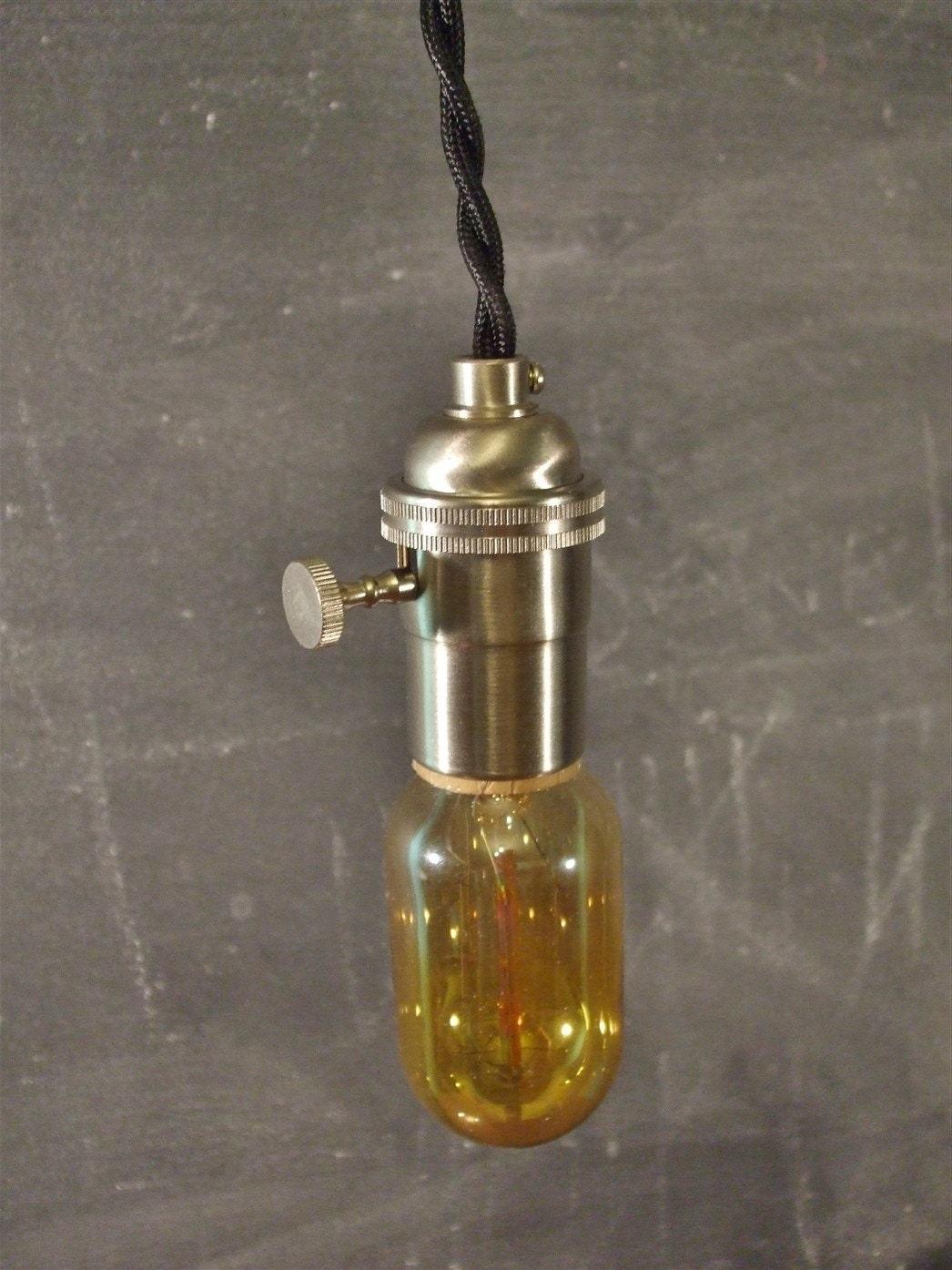 Vintage Industrial Style Cage Light Machine Age Minimalist Pendant Lamp I
