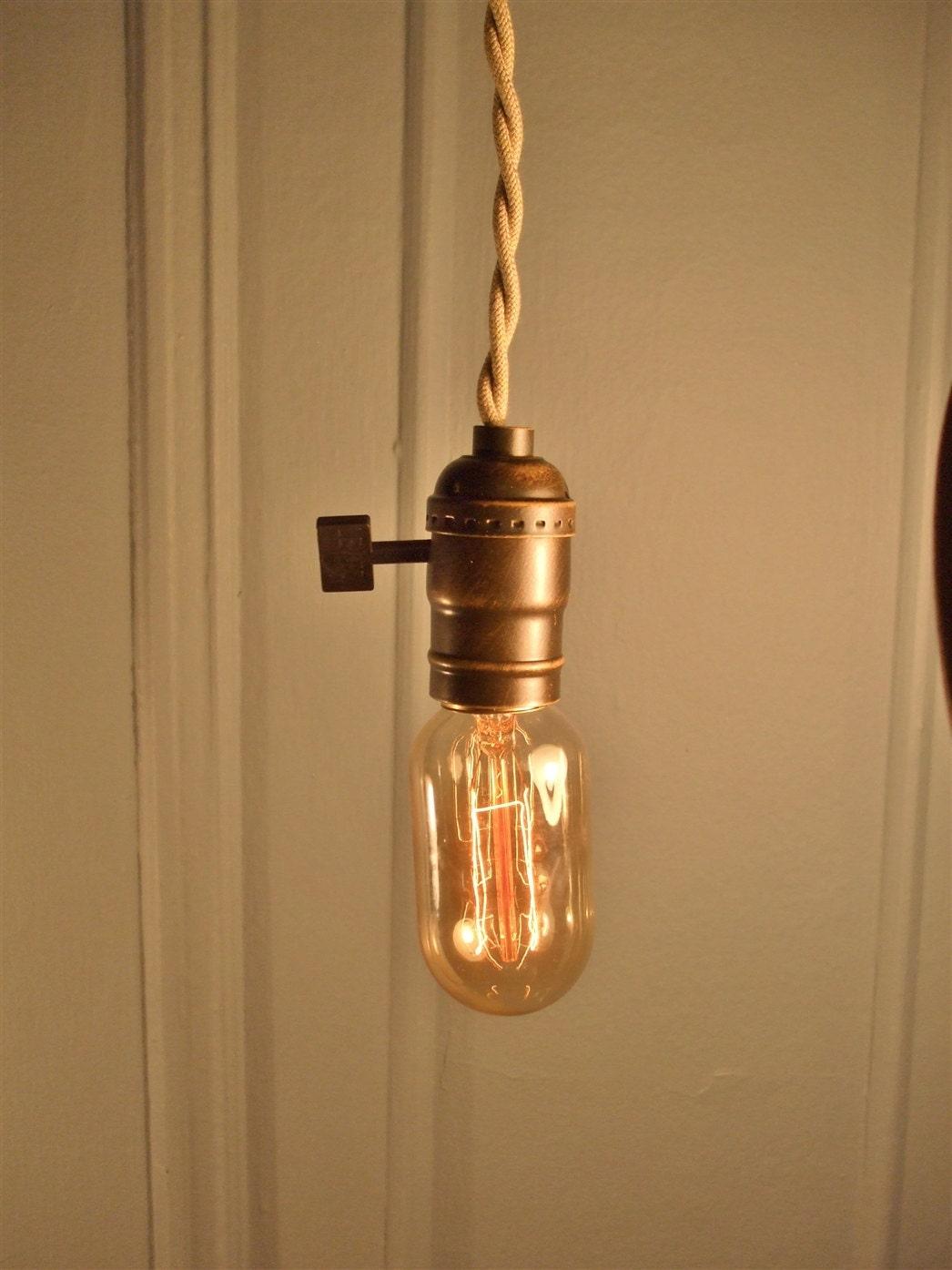 zoom bare bulb lighting