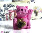Lucky Pink Pet Original Figurine