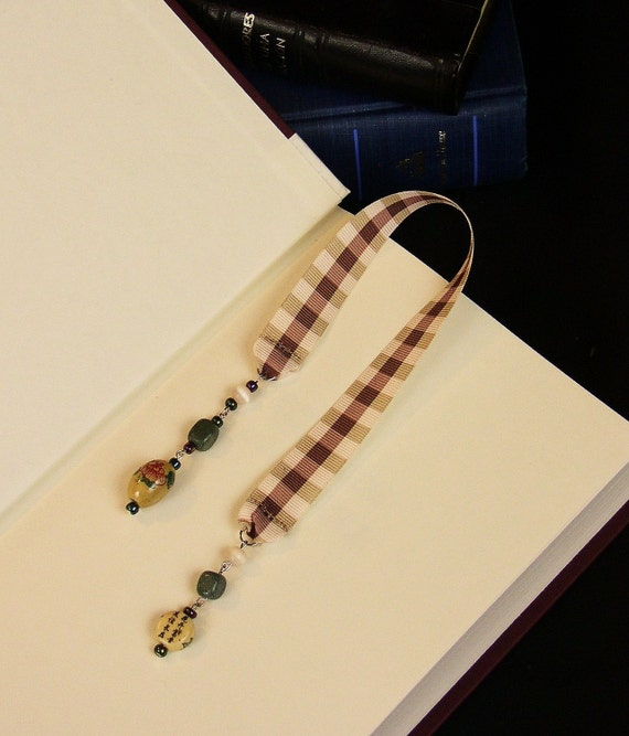 Asian Pink Ribbon Bookmark