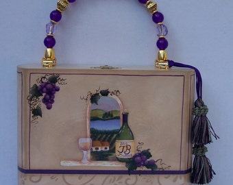 Cigar Box Purse - The Winery