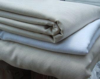 flat cotton sheets