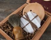 Badger Brush Shave Set Mens Gift