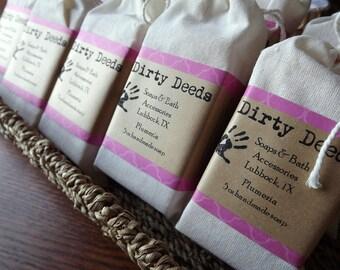 Plumeria Handmade Soap 3 Bars