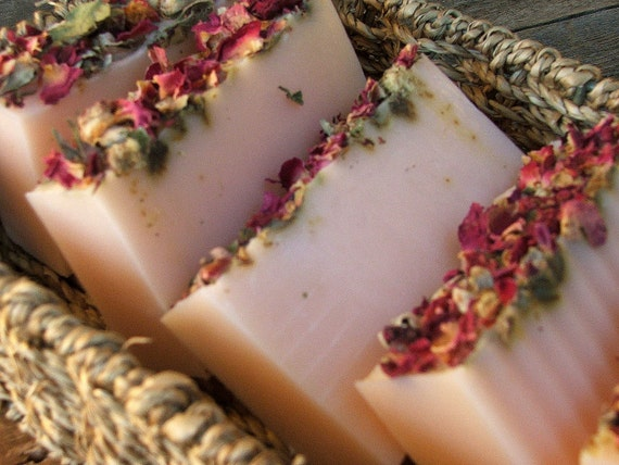 Roses Gypsy Rose Lee Handmade Soap 1 Bar