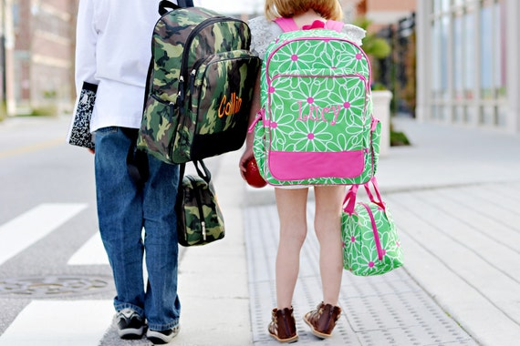 Personalized Backpack and Lunch Tote-On Sale this week Only
