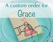 CUSTOM ORDER for Grace - cards with custom illustration