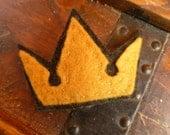 Kingdom Hearts Crown or Heartless barrette