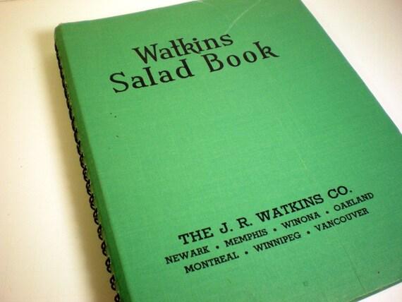 Watkins Salad Book by Elaine Allen