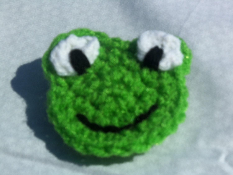 Frog applique crochet pattern crafthubs crochet frog applique rts bankloansurffo Gallery