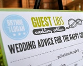 "MAD LIBS - WEDDING edition - ""Let's tie the knot"" - printed set of 50"