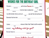MAD LIBS -  Birthday edition - Let's Eat Cake - PDF