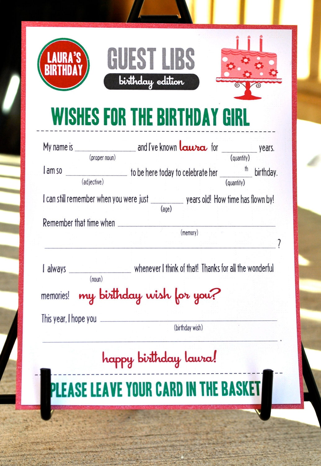 Tactueux image with regard to happy birthday mad libs printable