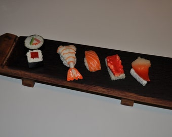 Recycled Wine Barrel Sushi, Appetizer or Cheese Tray