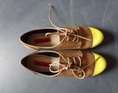 Yellow Tipped Shoes