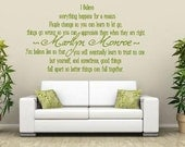 Marilyn Monroe- Believe  Vinyl Lettering wall words quotes graphics decals Art Home decor itswritteninvinyl