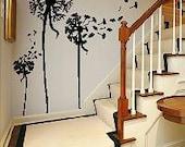 3   Blowing dandelions-  Vinyl Lettering wall words graphics Home decor itswritteninvinyl