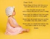 Dear God-faith-Vinyl Lettering wall words graphics Home decor itswritteninvinyl