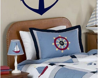 Anchor decal-Vinyl Lettering  decal wall words graphics Home decor itswritteninvinyl