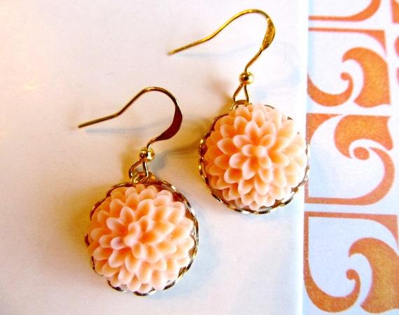 Coral Lovely Earrings