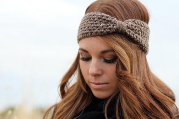 Crochet Turban Headband/Earwarmers