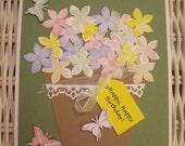 Pastel Rainbow Happy Birthday card