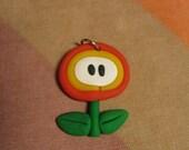 Fire Flower Charm (Mario Bros)