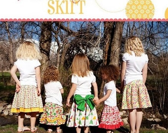 Izzy and Ivy Addie Jo Skirt Pattern, sizes 1-14, paper pattern