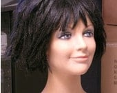 Mannequin Head display wigs hats Vintage 60s