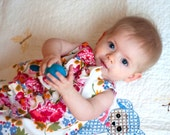 Baby Dress Pattern: Ruffled Chemise (PDF INSTANT DOWNLOAD)