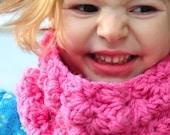 Children's Scarf Pattern: Crochet Sedge Stitch Cowl (PDF DIGITAL DOWNLOAD)