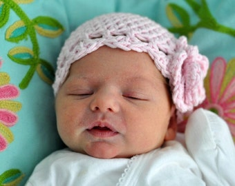 Crochet Pattern Flower Hat: Best Baby Cloche (PDF) (Make and Sell)