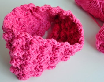 Child's Crochet Pattern: Cowl Scarf (Make and Sell) (PDF)