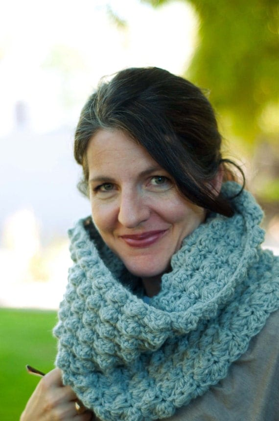 Cowl Crochet Pattern: Sedge Stitch Cowl and Maxi Cowl (PDF DOWNLOAD)