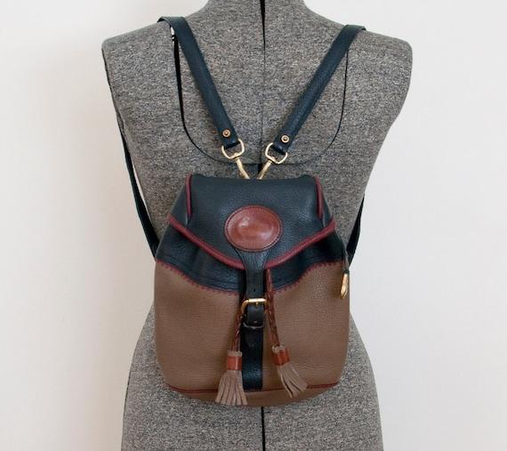 Vintage DOONEY & BOURKE Teton Tri-Color Backpack