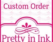 Custom Order - eyylam - Invitations