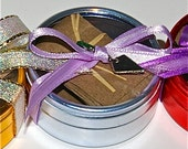 Wedding Favor Seed Tape- Light Silver-Blue Tin