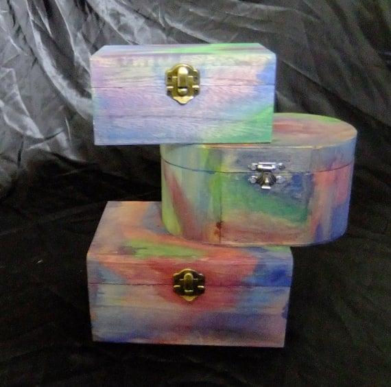 Rainbow Boxes