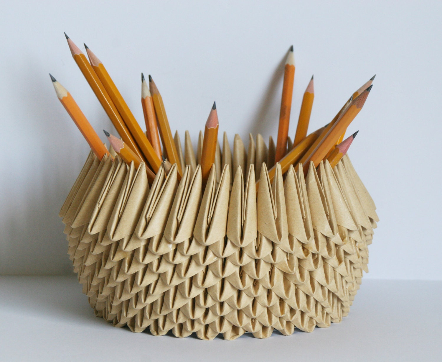 origami pencil holder 28 images pattern 3d origami