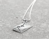 Love Letter Necklace, Sterling Silver