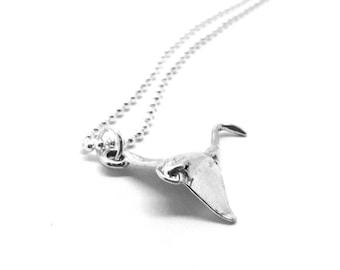 Stingray Necklace, Sterling Silver