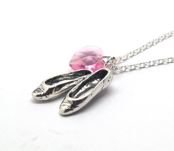 Ballet Necklace, Sterling Silver