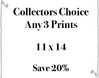 SALE - Any Three 11x14 Prints - Fine Art Travel Photography  - Story Wall - Home Decor